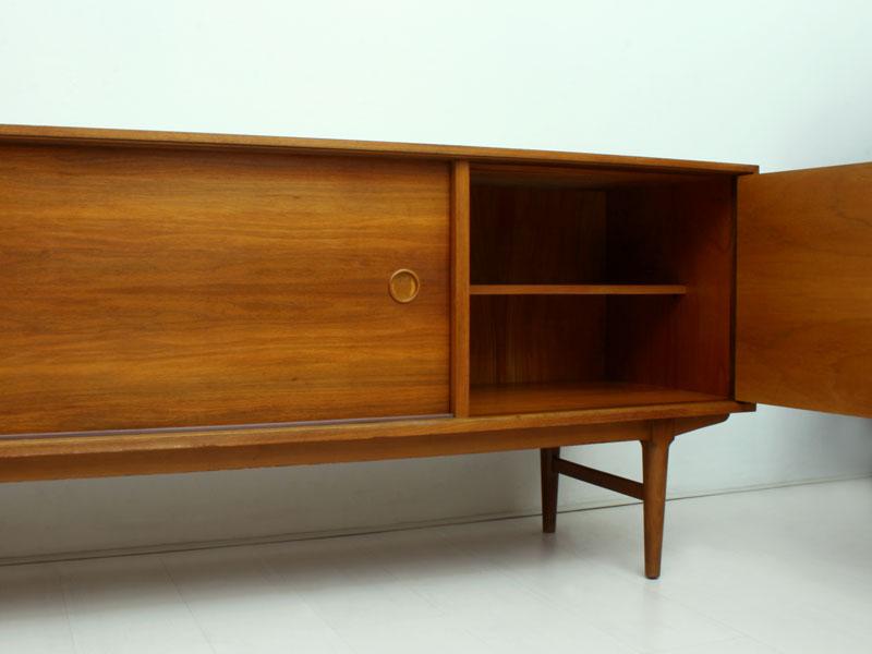Walnut Sideboard And Room Divider Good Old Vintage