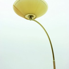 Unknown Brass Arc Lamp With An Adjustable Celluloid