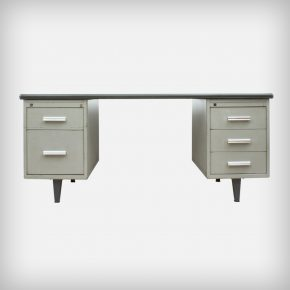 Industrial Metal Desk • Model Kleurodesk from the 7800-serie