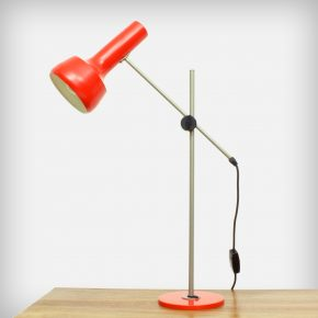 Red-Orange Desk Lamp