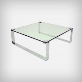 Chrome & Glass Coffee Table • Model Klassik 1022