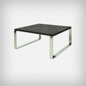 Shale & Chrome Coffee Table • Model Primus