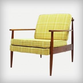 Ash Wood Easy Chair