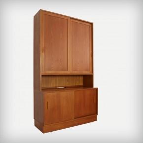 Teak Wall Unit Or Bookcase