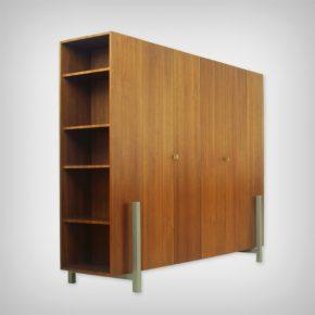 Walnut Wardrobe & Room Divider