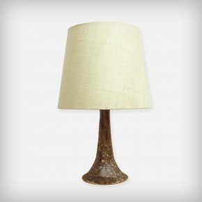 Ceramic & Fabric Desk Lamp