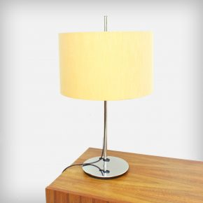 Adjustable Chrome Table Lamp