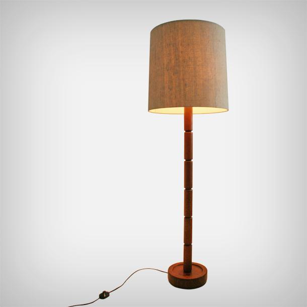 sports shoes 466f2 dddcf Unknown - Adjustable Teak Floor Lamp • Good Old Vintage