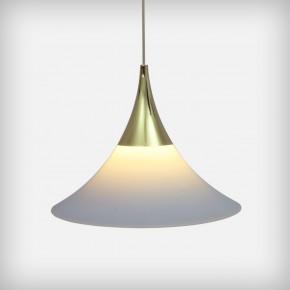 Glass And Brass Pandant Lamp