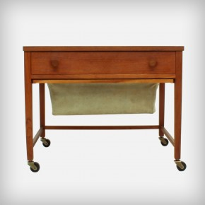 Small Teak Sewing Table