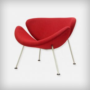 Early Red Lounge Chair • Model Orange Slice