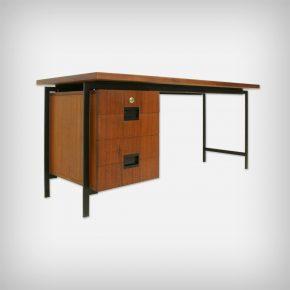 Teak & Metal Desk • Model EU01