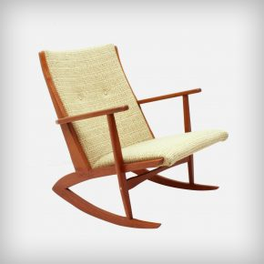 Solid Teak Rocking Chair • Model 97