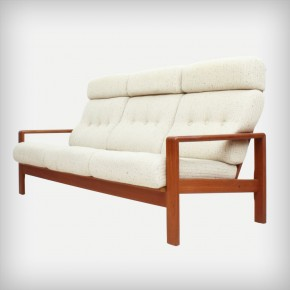 Teak Three-Seater • Model Stavanger