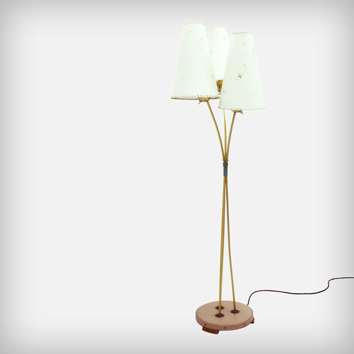 Three Arm Floor Lamp Good Old Vintage