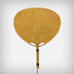 Bamboo & Rice Paper Wall Lamp • Model Uchiwa II