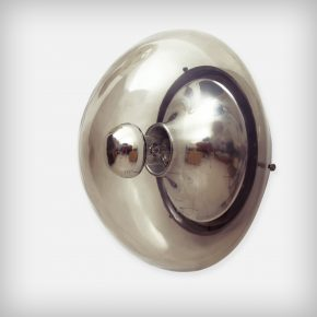 Aluminium & Glass Ceiling Or Wall Lamp