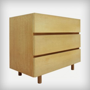 Oak Wood Chests Of Drawers • Model 427/6
